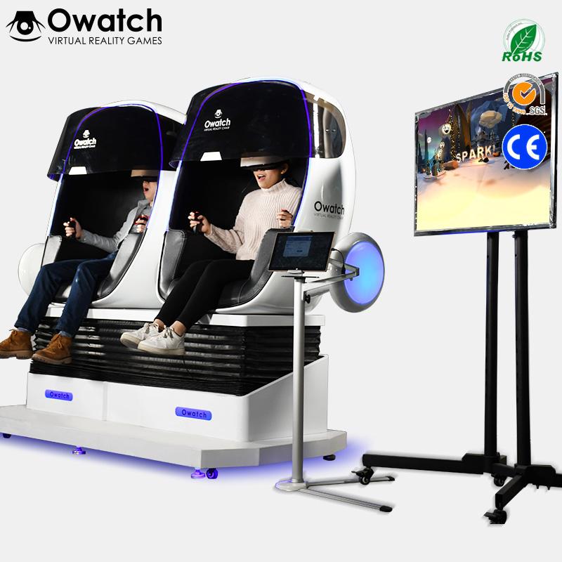 VR Chair Egg 9D VR Cinema Virtual Reality Simulator