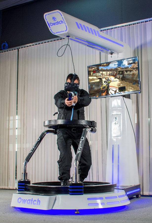 Owatch-VR-Walker-Shooting-Simulator