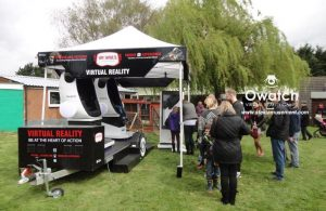 Owatch Virtual Reality Case in Park