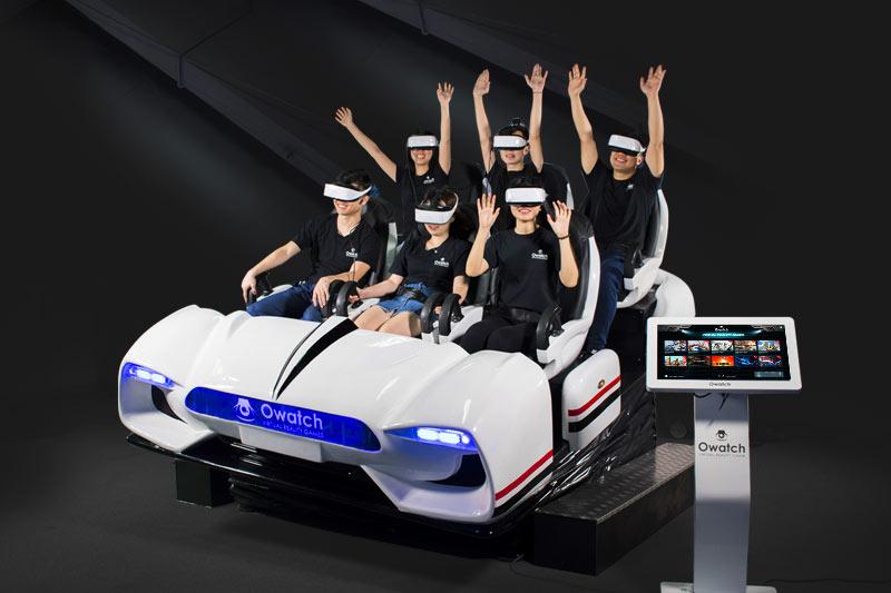 VR Family 6 seats 9d vr