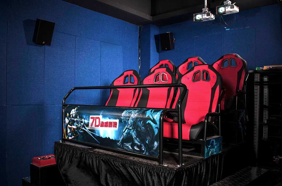 7D Cinema 6-dof 6 Seats