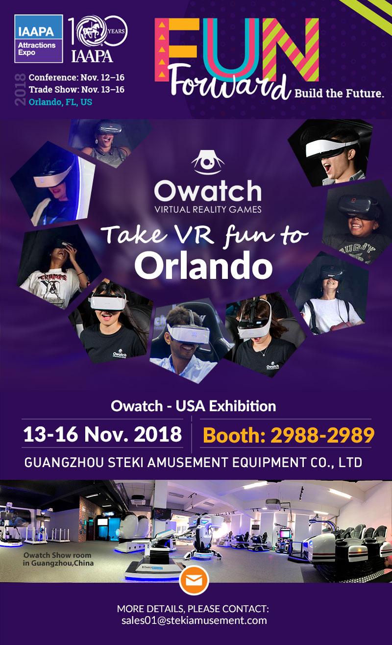 Owatch-VR-Fair-in-IAAPA-2018US