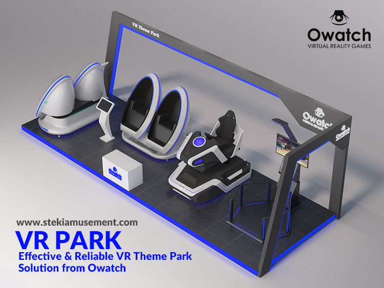 VR Arcades theme park solution