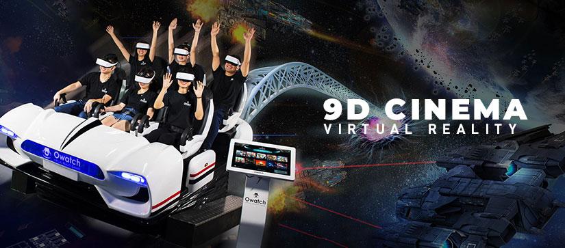 9D VR Cinema 6 seats