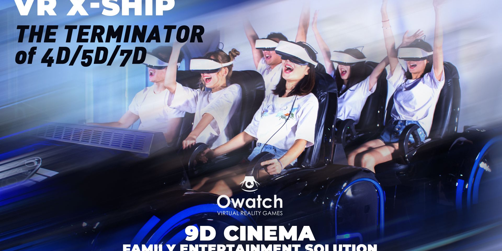 d6314d46f3c VR X-SHIP 6 seats 9d VR Cinema from Owatch  The Terminator of 4D 5D ...