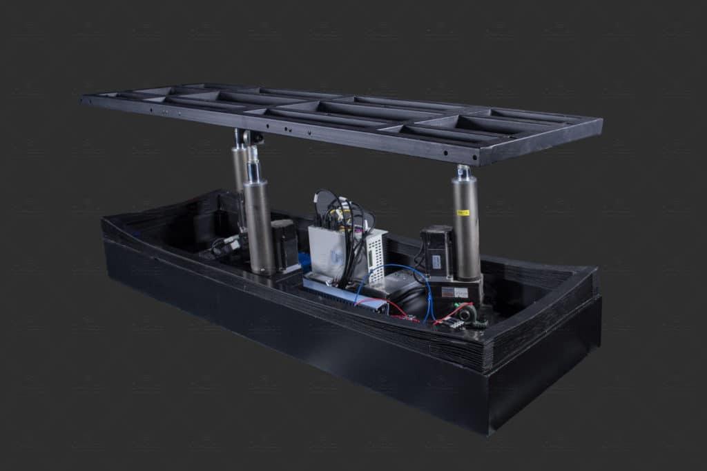 3 Seats 3-DOF Dynamic Platform
