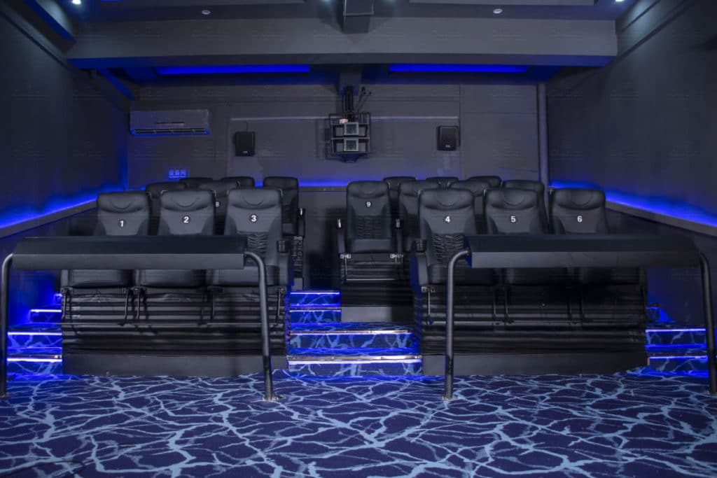 5d cinema in china