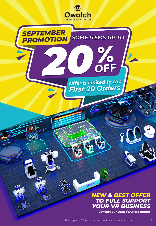 big sale from owatchvr vr machine