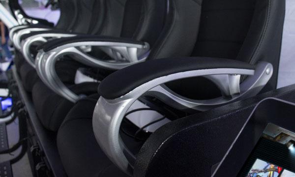 Seat Armrest / chair / PU Chair